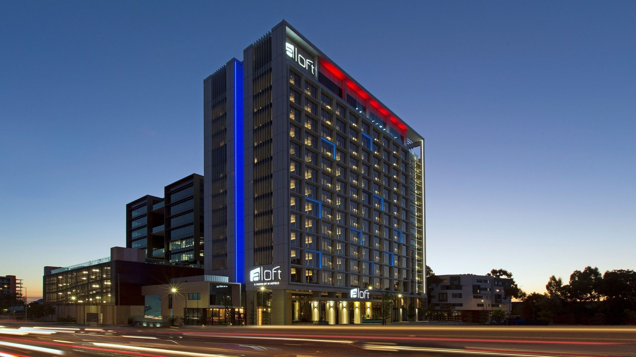 Aloft Perth - exterior